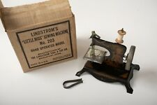 Lindstrom's Little Miss Sewing Machine No 203 (P3L) Antique Child's Toy