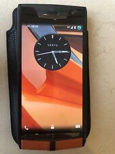 Vertu Signature Touch -Motorsport Matt Black And Orange, Carbon, 100% Genuine