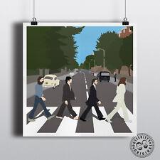 BEATLES - Abbey Road Minimalist Music Poster Posteritty Minimal Lennon McCartney