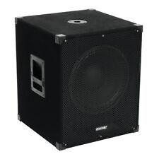 "OMNITRONIC magicarpet - 151A 15"" SUBWOOFER ATTIVO BASS Bin Altoparlante 1000W DJ Discoteca"
