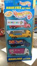 Hot Wheels Haulers 4 Truck Toys R Us Gift Pack