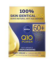 Nivea Night Cream Anti-Aging 60+ Replenishing 24H Hydration Anti-Wrinkle Organic