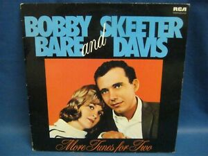RECORD ALBUM BOBBY BARE & SKEETER DAVIS MORE TUNES FOR TWO 7336