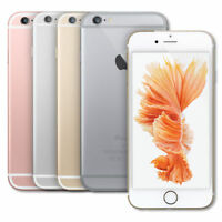 AT&T Apple iPhone 6S LTE GSM Black Silver Rose Gold 16GB 32GB 64GB 128G