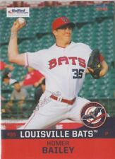 2018 Louisville Bats Homer Bailey RC Rookie Cincinnati Reds