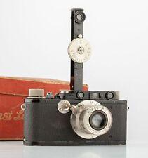 Leica II + Elmar 3,5/50mm + Fernrohrsucher Baujahr 1932  SHP 65885