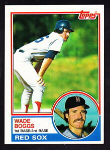 1983 TOPPS #498 WADE BOGGS RED SOX ROOKIE