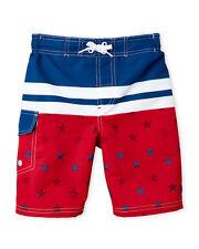 NWT ORIGINAL PENGUIN (Boys 4-7) Americana Board Shorts, size 5-6