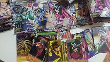 190 cards / Saint Seiya / Caballeros del zodiaco / SUPER RARE/ Mexico