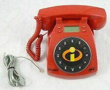 Disney Pixar The Incredibles SBC Red Collector's Phone 2day Delivery