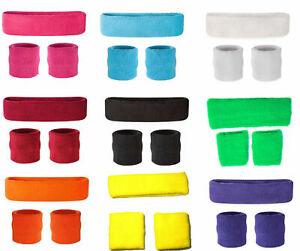 Kids Neon Headband & Wristbands Neon  Wrist Sweatbands & HeadBands