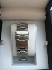 SEIKO SOLID Stainless Steel Strap / Bracelet With Straight Lug Ends Size 22mm