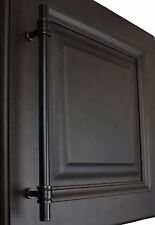 """4340-192-ORB - 7-5/8"""" Solid Steel Ring Cabinet Bar Pull Handle Oil Rubbed Bronze"""