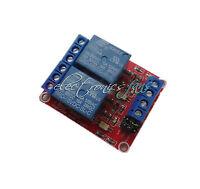 24V 2-Kanal Relay Module with Optocoupler H/L Level Triger für Arduino Relais