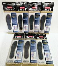 Homedics Thera P Magnetic Therapy Insoles Men's Massaging Size 7-12 New