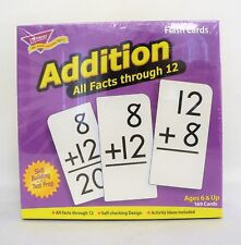 Trend Enterprises Inc Addition 0-12 (all facts) Flash Cards