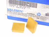 NEW SURPLUS 7PCS. VALENITE  SPC 633  GRADE: V1N  CARBIDE INSERTS