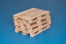 RB Model 35D30 1/35 4 x natural wood pallets
