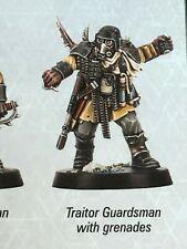 Warhammer QUEST Blackstone Fortress - Chaos Traitor Guard/Guardsman/ Guardsmen 7