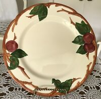 "Franciscan -Apple -Dinner Plate- 10-1/2""  Made In California"