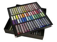 Rembrandt Artists Soft Pastels Set of 120 pastels (60 Full & 60 Half Pastels)