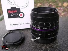 50mm F1.8 II Lens for M4/3 MFT Micro 4/3 Panasonic GF9 GF8 GH5 Olympus EP5 EPL7