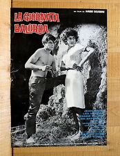 LA GIORNATA BALORDA fotobusta poster Jean Sorel Lea Massari Camporella CH32