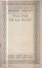 The Augustan Books Of Modern Poetry: Walter De ... - Walter De La Mare - Acce...