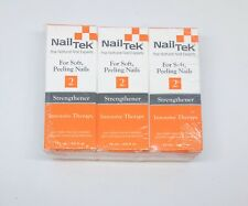 Nail Tek Strengthener 2 Intensive Therapy - For Soft & Peeling Nails 3 pack