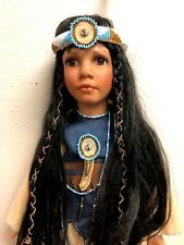 DOLL, NEW, TINY FLAME, PORCELAIN, Collectible, Handcrafted Premium Edition #B418