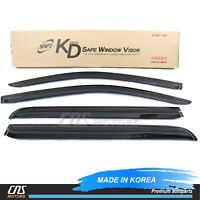 2009-2016 BMW F02 750Li Out-Channel Wind Deflector Window Visor Sun Guard 4pcs