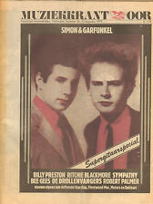 MAGAZINE OOR 1975 nr. 16 - BEE GEES/RITCHIE BLACKMORE/SIMON & GARFUNKEL