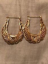 Intricate Gold Design Earrings
