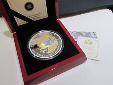2013 5 oz. Fine Silver proof Coin - 25th Anniversary of the Silver Maple Leaf