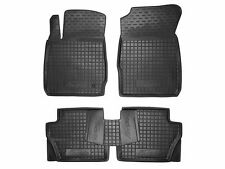 Rubber Car Floor Mats All Weather Custom Fit Ford Fiesta 2008-2016