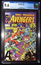 Avengers #246 CGC 9.6...Guest-starring Sersi of the Eternals..Movie in November