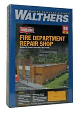 Lot 10-290 * HO Walthers Cornerstone kit 933-3767 * Fire Department Repair Shop