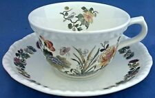 ADAMS TEA CUP & SAUCER DECORATED WITH THE COUNTRY MEADOW PATTERN
