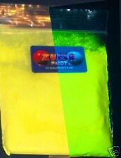 Pigmento En Polvo Ultravioleta Uv Glow Fluorescente-Amarillo