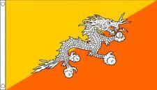 BHUTAN FLAG 5FT X 3FT