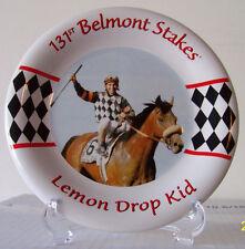 Lemon Drop Kid 131st Belmont Stakes Winner - 1999 Collectors Plate - Jose Santos