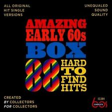 NEW Amazing Early 60s Box: 88 Hard-to-Find Hits (Audio CD)