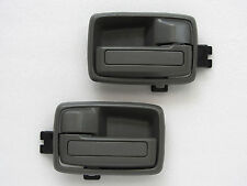 89 - 01 ISUZU TFR HOLDEN RODEO PAIR OF INNER DOOR HANDLE GREY