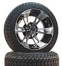 (4) ITP 14 SS or HD Aluminum Alloy Golf Cart Car Rim Wheels & 205-30-14 Tires