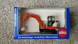 Siku 3521 1/50 Scale Schaeff HR32 Crawler Excavator Boxed New