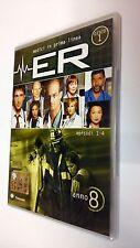 E.R. Medici  in prima linea DVD Serie TV Stagione 8 Disco 1 Episodi 4