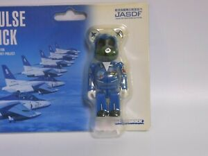 Bearbrick Medicom Toy Japan Blue Impulse Air Self-Defense Force Be@rbrick  100%