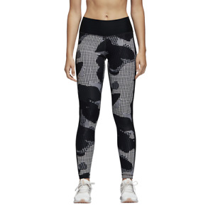 Adidas Believe This High Rise Womens Long Training Tights CX0011 - Black