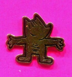 1992 BARCELONA OLYMPIC KOBI PIN OFFICIAL GOLD MASCOT PIN