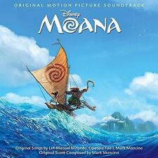 Moana [Original Motion Picture Soundtrack] by Lin-Manuel Miranda/Mark Mancina/Opetaia Foa'i (CD, Nov-2016, Walt Disney)